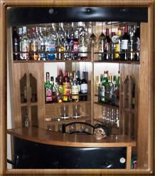 Sociedad comercial del rey ltda inicio for Bar madera esquinero